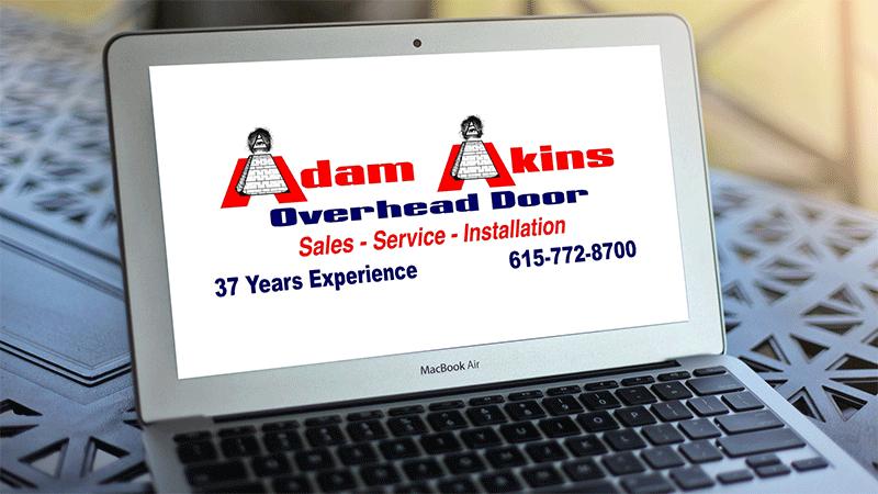 Adam Akins Overhead Door Sales Service Repair Installation